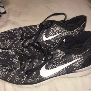 Nike free runs lightly worn
